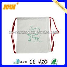 canvas drawstring backpack wholesale (NV-D0321)