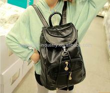 2012 new female bag bag black Korean leisure package Institute Wind shoulder bag backpack women package