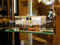 clear acrylic cosmetic of display,acrylic racks