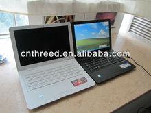laptops on sale 13.3inch laptop RAM DDR3 1G/2G/4G HDD 160G/250G/320G/ 500G netbook WinXP/7 Intel D425 or D2500 notebook computer