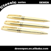 high quality dewen promotional metal mechanical pencil and ballpoint pen