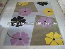 Carpet bedroom floor mats with pattern