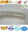 alambre de acero reforzado de pvc de primavera tubo de la manguera