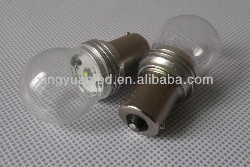 S25 1157 Car Auto SMD 1156 3W High Power LED Tail Brake Turn Reverse Light Lamp Bulbs 12V