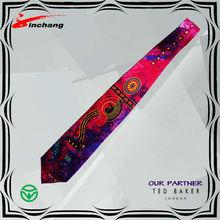 silk twill digital print necktie / tie8020 S007
