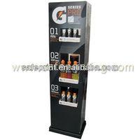 gatorade g deries pro floor stand pop display racks