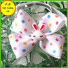 fashion dog bow tie collar with rabbit charm (FB013206)
