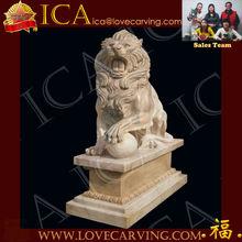 stone animal carvings