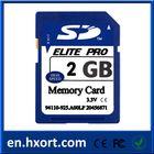 Memorising,original memory 2GB sd card