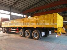 tri-axle cargo transportation semi trailer side panel,bulk carrier semi trailer