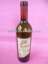 2012 new design high quality crystal whisky glass bottles