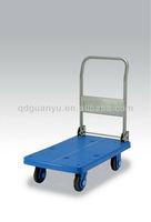 Rubber castor wheels trolley (PLA250-DX)