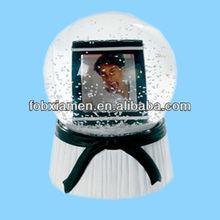 Fancy Snow Globe Photo Frame Kids