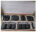 Popolare 2013 spa prodotto massaggio hot stone set, 64 pz, bambù scatola