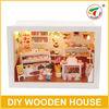 Dollhouse Miniatures Furniture Wholesale Cute Doll House Happy Cake Shop GW384330