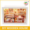 Dollhouse Miniatures Furniture Wholesale Cute Doll House Happy Cake Shop GW384330