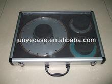 transparent aluminium case for saw