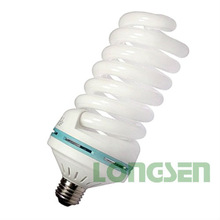 65W Full spiral energy saving light bulb