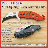 "(PK-TF516) 4.5"" TAC-FORCE Karambit Assist Opening Folding Rescue Pocket Knife"