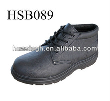 WH,steel midsole tough envirement used CE approved injection PU safety shoes