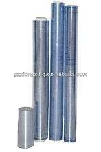 Factory with powder pvc normal clear film