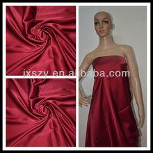 plain dyed silk fabric dyeing silk satin fabric chinese fabric