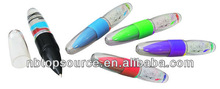 Promotional Liquid Light Ball Pen light pen