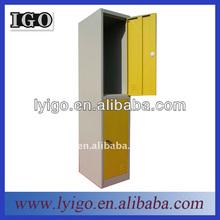 IGO-019-6 2012 hot selling double door locker box in home