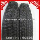 brazilian virign non processed no dye colour 1b kinky straight hair weft double sealer 8-40 inch no shedding,no tangle