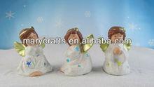 New ceramic ceramic white angel ornament