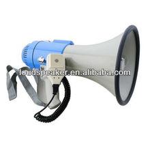 25w mégaphone sirène avec enregistreur vocal