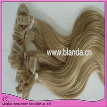 "20"" flat hair 1g Pre Bonded Hair, Keratin Human Remy Hair extension"