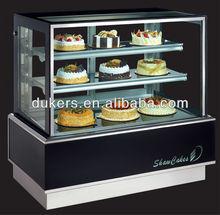1.2m cake cooler,cake fridge,cake display cooler with light box