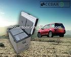 80L portable dual zone car portable refrigerator