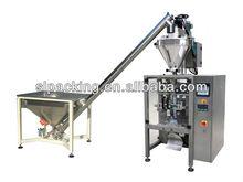 vertical feeding weighing corn starch food powder packaging machine