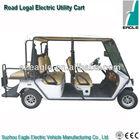 EC certified Golf utility car,EEC Street Legal NEV,EG2048HSZR,48V/5KW AC Sepex,48V/5.3KW Sepex