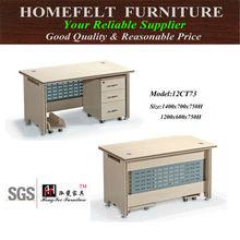 new design cheap modern custom made wooden computer desk decoration made in Melamine