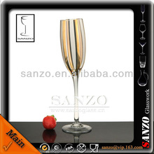 200ml perfect designed decorated champagne glass