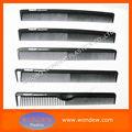 Carbono cepillo para el cabello/peine de carbono/peines