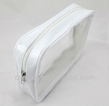Plastic zipper cosmetic bag promotion