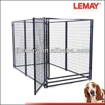 heavy duty dog kennel with veranda