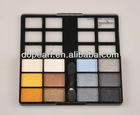 12 autumn and cool color eyeshadow plate,multi color glitter square eyesha