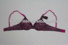 Leopard Sexy Ladies Adhesive Seamless Bra