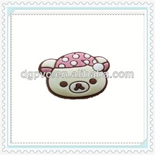 crochet beanies ,ear cap for apple iphone 4 4g 4s 3g 3gs, port dustproof plug