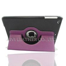 high quality purple case for mini ipad,pu protective case for ipad mini 2