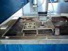 used water jet cutting machine
