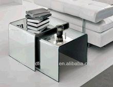 Newland modern mirror coffee table