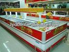 1.8M glass door refrigerator freezer, Supermarket chest freezer
