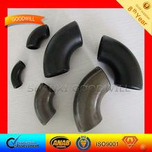 black iron pipe butt welded fittings--SHANXI GOODWLL