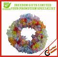 Personnalisé couleur Polyester hawaï couronne de fleurs